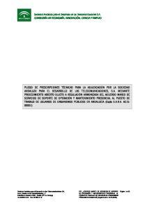 S.A. PPT_ ACUERDO MARCO DE SERVICIOS DE SOPORTE