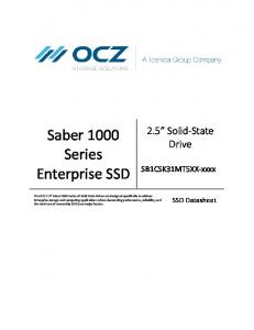 Saber 1000 Series Enterprise SSD