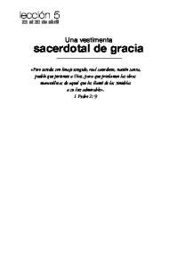 sacerdotal de gracia