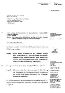 SACHSEN. des Staatsbetriebes SIB angeben)