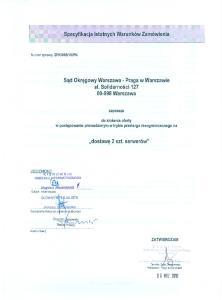 Sad Okregowy Warszawa - Praga w Warszawie al. Solidarnosci Warszawa. zaprasza