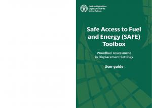 Safe Access to Fuel and Energy (SAFE) Toolbox