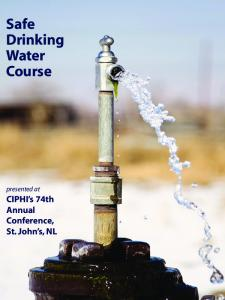 Safe Drinking Water Course