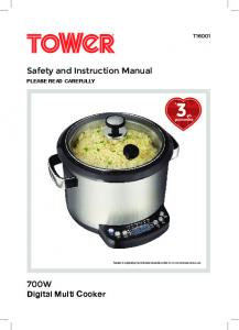 Safety and Instruction Manual