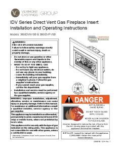 SAFETY BARRIER WARNING: FIRE OR EXPLOSION HAZARD