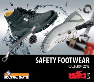 SAFETY FOOTWEAR 2013