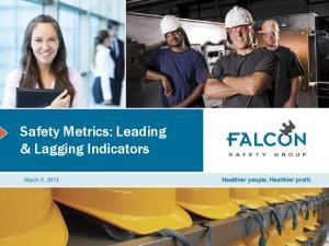 Safety Metrics: Leading & Lagging Indicators