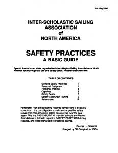 SAFETY PRACTICES A BASIC GUIDE
