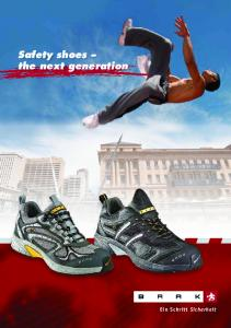 Safety shoes the next generation