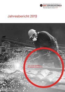 SAH Zentralschweiz Jahresbericht 2013