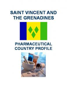 SAINT VINCENT AND THE GRENADINES PHARMACEUTICAL COUNTRY PROFILE