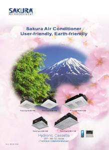Sakura Air Conditioner User-friendly, Earth-friendly