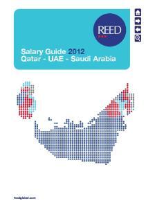 Salary Guide 2012 Qatar - UAE - Saudi Arabia