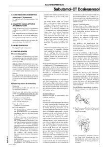 Salbutamol-CT Dosieraerosol