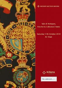 Sale of Antiques, Fine Art & Collectors Items. Saturday 11th October 2014 At 10am