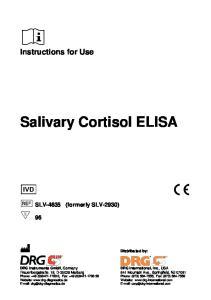 Salivary Cortisol ELISA