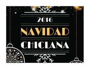 SALUDA. Chiclana Navidad 2016