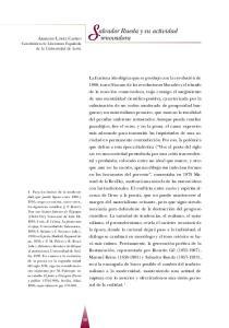 Salvador Rueda y su actividad