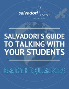 Salvadori s Guide to Talking with Your Students