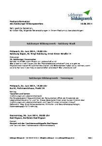 Salzburger Bildungswerk - Salzburg-Stadt