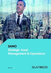 SAMO Strategic Asset Management & Operations