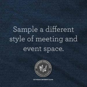 Sample a different style of meeting and event space