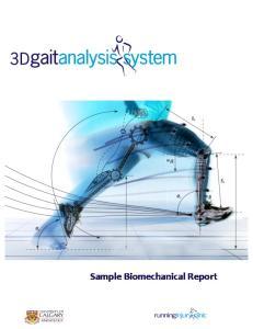 Sample Biomechanical Report