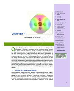 Sample Chapter. Chemical Bonding
