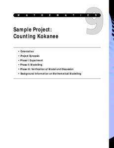 Sample Project: Counting Kokanee