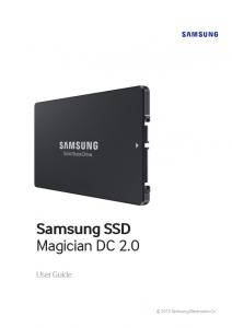 Samsung SSD Magician DC 2.0. User Guide Samsung Electronics Co