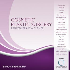 Samuel Shatkin, MD. Eyelid Surgery. Brow Lift. Neck Lift. Facelift. Skin Resurfacing. Microdermabrasion. Injectable Fillers