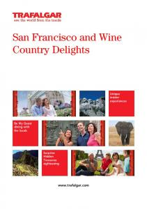 San Francisco and Wine Country Delights