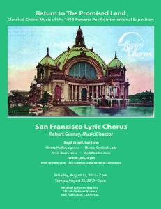 San Francisco Lyric Chorus