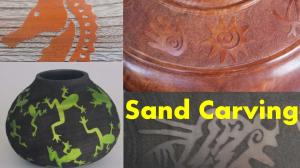 Sand carving is both simple and complex