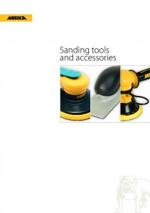 Sanding tools and accessories