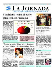 Sandinistas toman el poder municipal de Nicaragua
