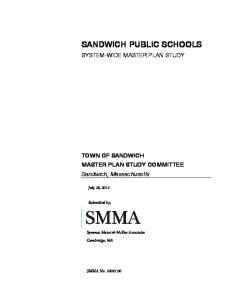 SANDWICH PUBLIC SCHOOLS