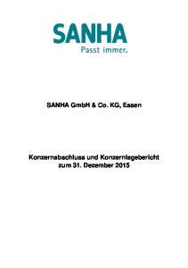 SANHA GmbH & Co. KG, Essen