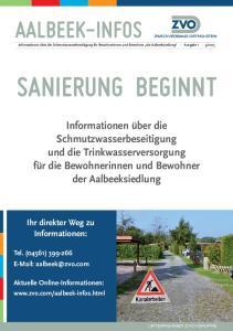 SANIERUNG BEGINNT AALBEEK-INFOS