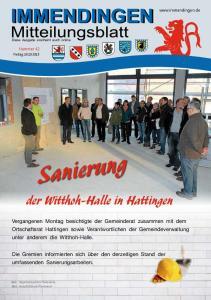 Sanierung. der Witthoh-Halle in Hattingen