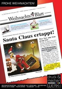 Santa Claus ertappt!