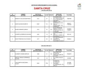 SANTA CRUZ CIRCUNSCRIPCION 50