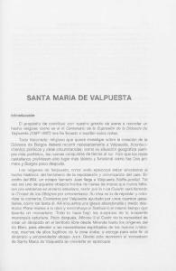 SANTA MARiA DE VALPUESTA