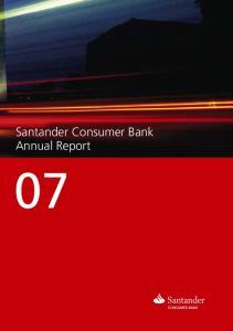 Santander Consumer Bank Annual Report