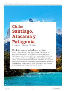 Santiago, Atacama y Patagonia