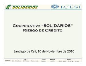 Santiago de Cali, 10 de Noviembre de 2010