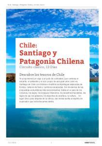 Santiago y Patagonia Chilena