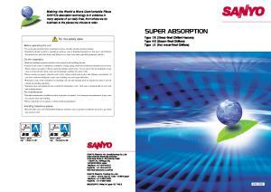 SANYO Electric Co.,Ltd. SANYO Electric Trading Co.,Ltd