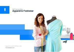 SAP Business One. Apparel & Footwear. Apparel & Footwear for SAP Business One