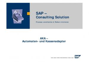 SAP Consulting Solution